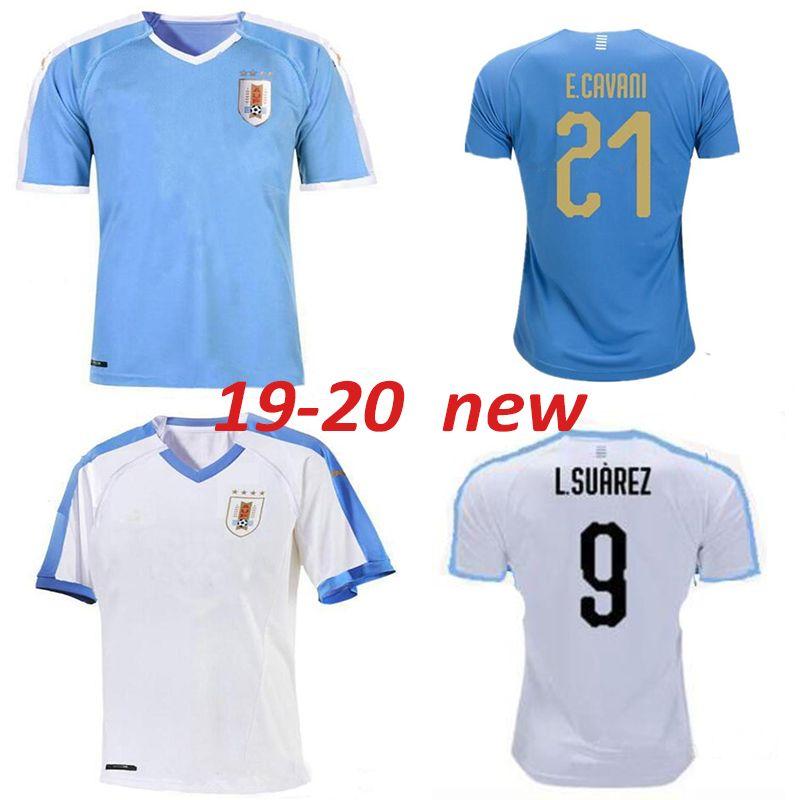 Acquista 2019 2020 Nuovo Uruguay HOME AWAY Pullover Di Calcio C.STUANI 19 20 D.GODIN Uruguay L.SUAREZ Maglia Da Calcio E.CAVANI Maglia Da Calcio ...