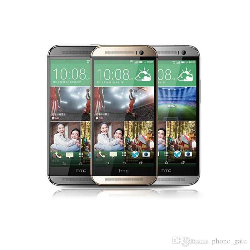 Original HTC One M8 2GB RAM 16GB/32GB ROM 5.0inch Refurbished Smartphone Quad Core WIFI Bluetooth 4G LTE Mobilephone With Box