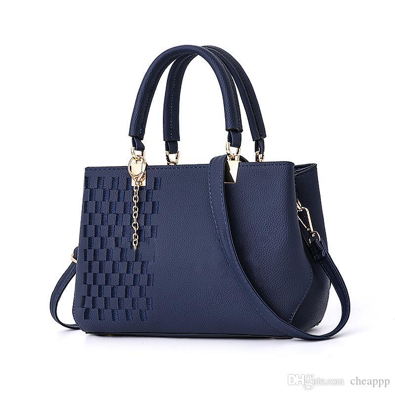 marke designer geldbörse frauen sollten taschen dame pu leder handtaschen marke taschen einkaufstasche (2 stil)