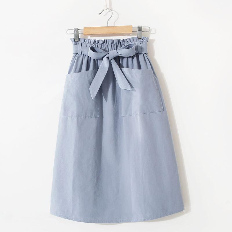 Новая весна и лето 2020 института литературы, женщины в зародыше с длинными деньгами карманных юбками вскользь ворда