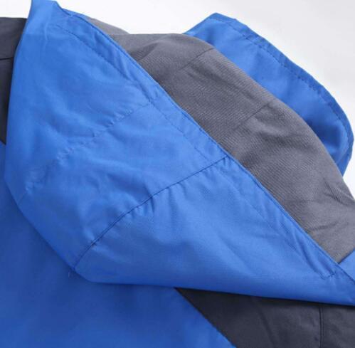 Özelleştirilmiş açık İlkbahar ve sonbahar ince ceket erkekler logosu tek katmanlı dış giyim dağcılık clothin özelleştirilebilir