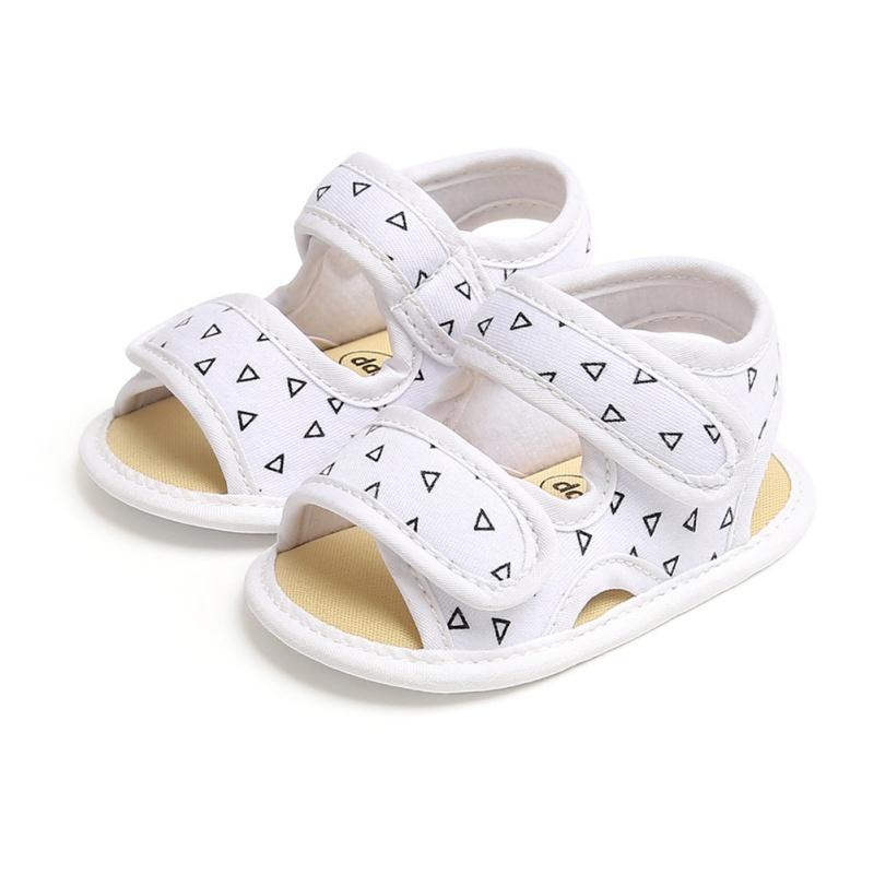 Morbido cotone Sole neonate Canvas arco primi camminatori scarpe di moda estate Prewalkers primo camminatore mocassini bambino