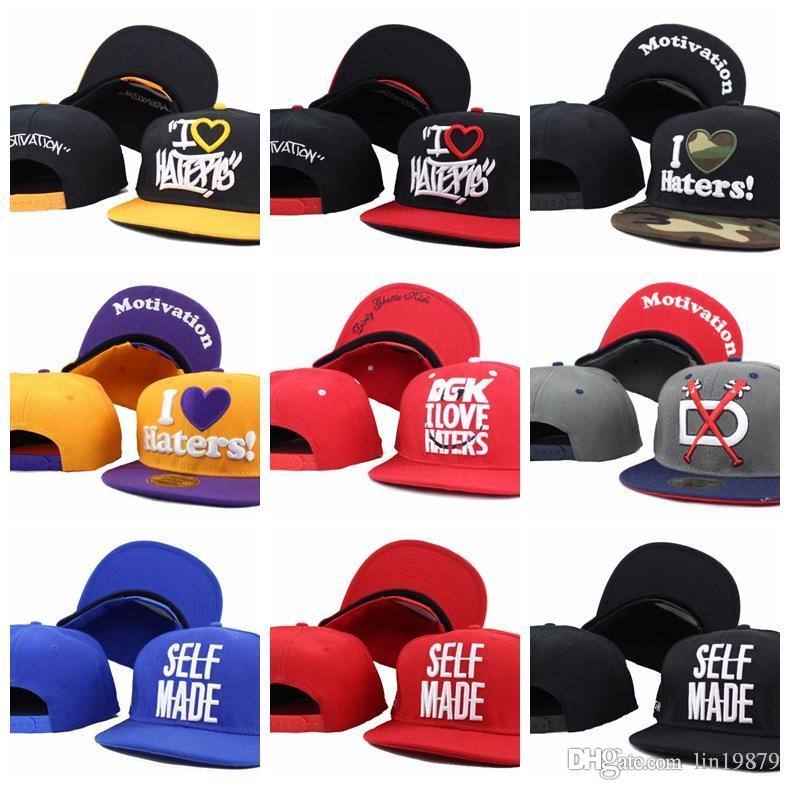 DGK auto-motivação FEITO camo Baseball Caps óssea Casquettes chapeus hip hop Snapback For Men Alta Qualidade ajustável