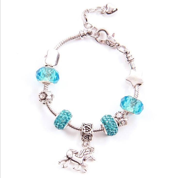 Joyería de diseño de lujo para mujer, collar para hombre, plata de ley 925, cadenas heladas, colgante de caballo, brazalete, collares, joyería, NE1088-1