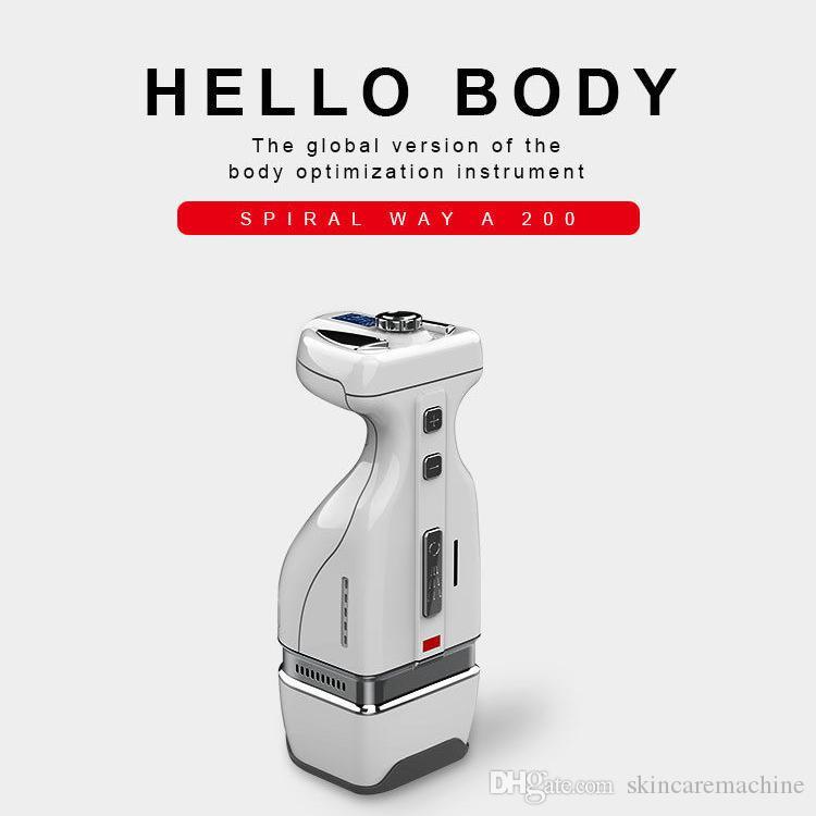 Sıcak satış el liposonix / ev kullanımı yağ için HIFU vücut liposonix zayıflama makinesi vücut inceltme için enstrüman yanan