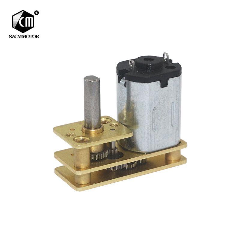 10 개 미니 N20 15 6 V DC 모터 회전 속도 감소 모터 회전 속도 rpm-300 rpm 모터 회전 속도 모터 회전 속도 모터