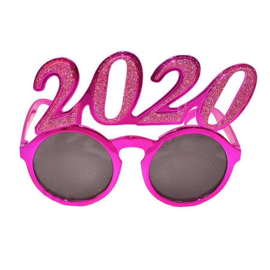 2020 Количество фото Prop очки Flash-порошок Пластиковые очки Новый год Взрослые Дети очки для партии украшения 3style RRA2564