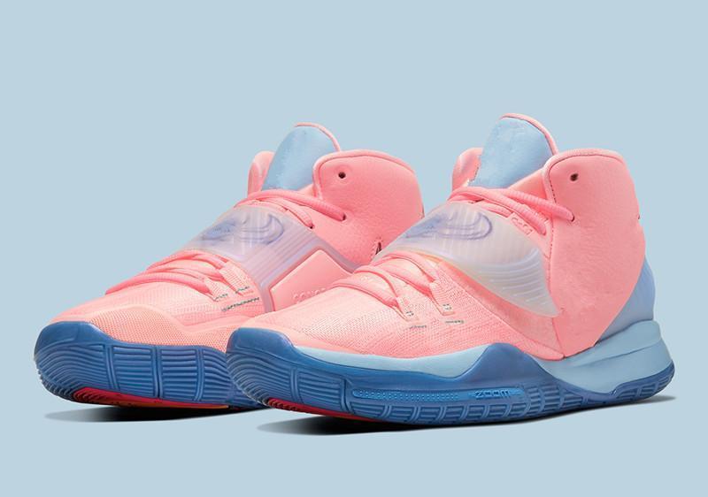 2020xiong sneaker Invitational Homens tênis de basquete vendas com caixa de alta qualidade Irving 6 PE Mismatch Verde Vermelho Sport Shoes loja US7-US12