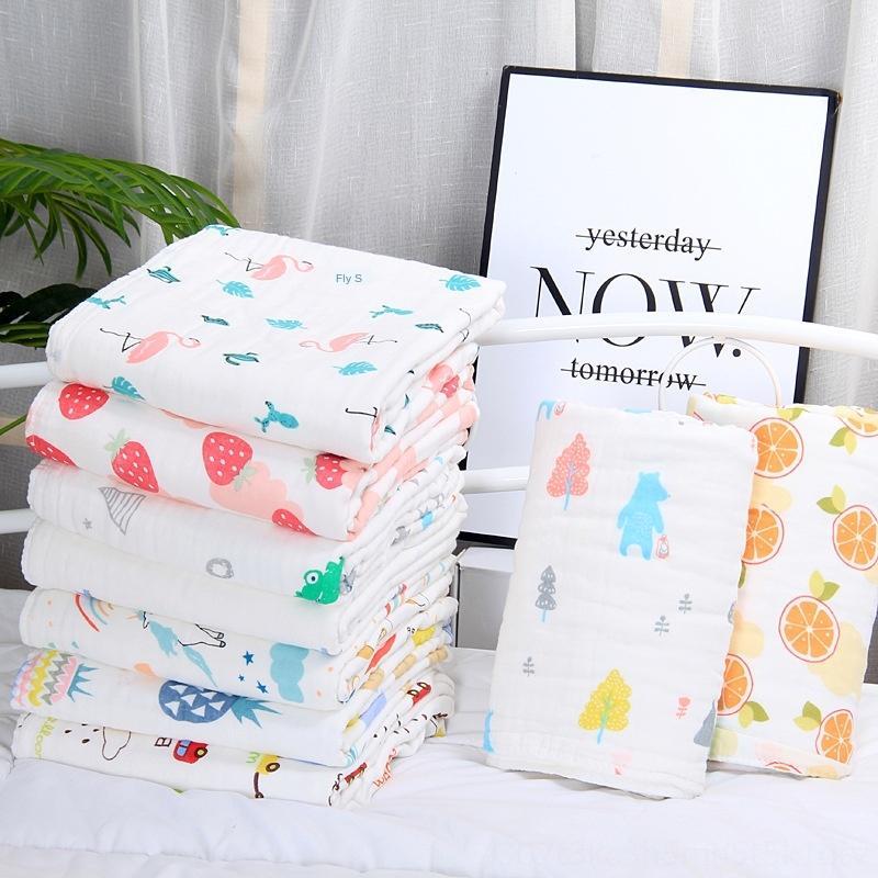 Baby six-layer pure cotton gauze children 105*105/110*110 blanket Baby quilt six-layer pure cotton gauze children quilt 105*105/110*110 blan