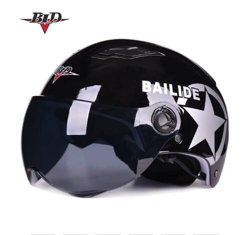 BLD Bailey M12 мотоциклетный шлем Harley лето половина шлем мужчины и женщины легкий анти-УФ шлем