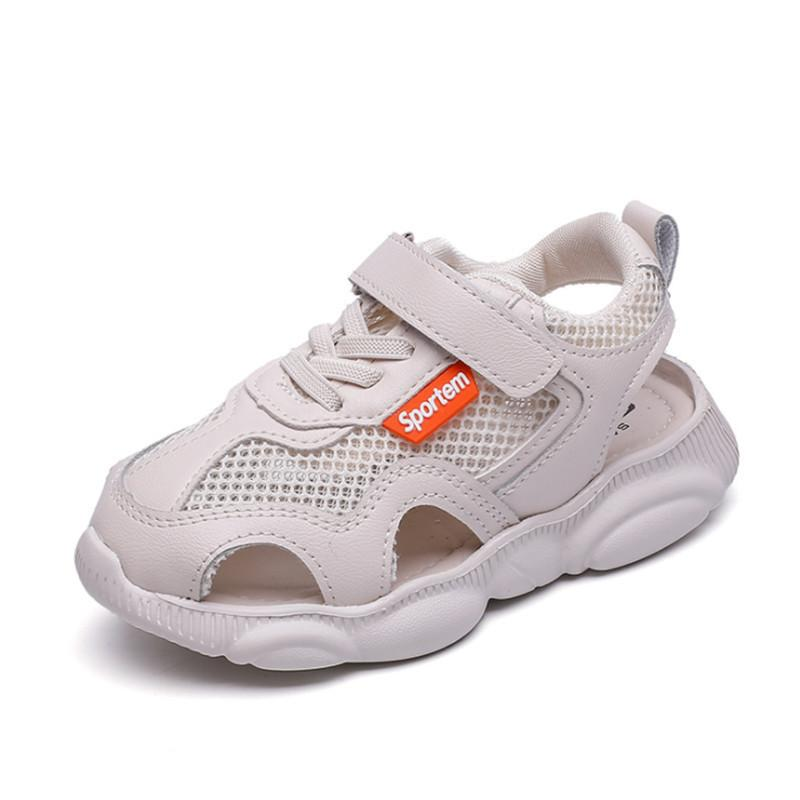 Beige, 21.5 Baby Sneaker Shoes for Girls Boy Kids Breathable Light Weight Athletic Running Walking Casual Shoes,Breathable Big Childrens Casual Shoes