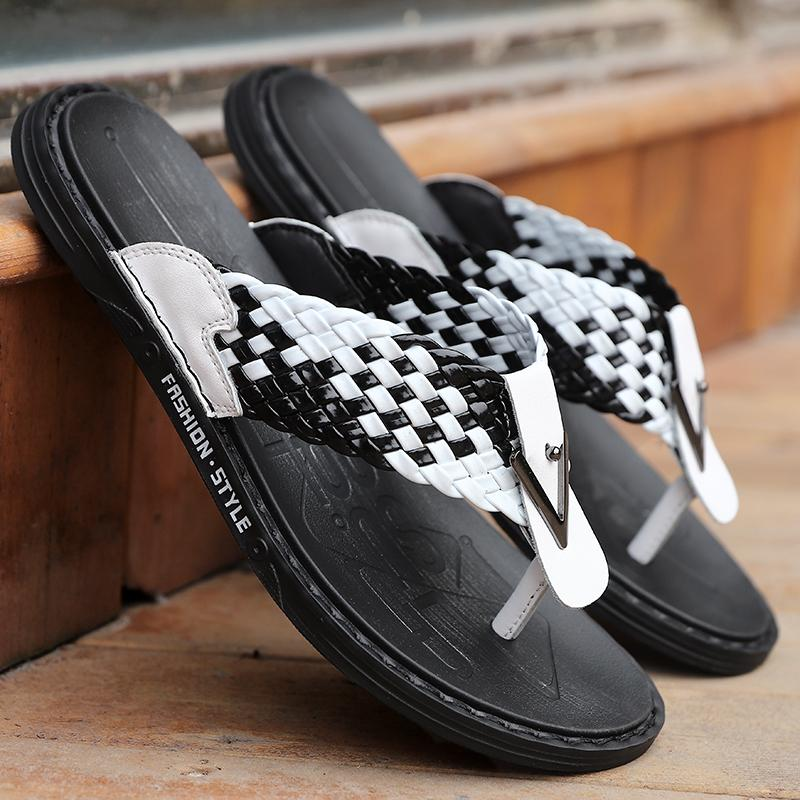 Hombres zapatillas de verano los hombres sandalias cómodas jardín al aire libre zapatos zapatos agujero samdals Zapatillas Stream hombres de Adultos