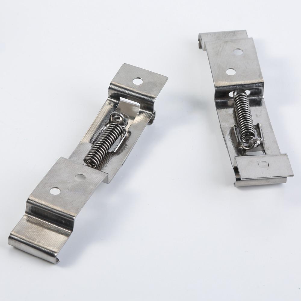 1 Clips de plaque dimmatriculation /à ressort pour cadre de camion support de voiture et remorque
