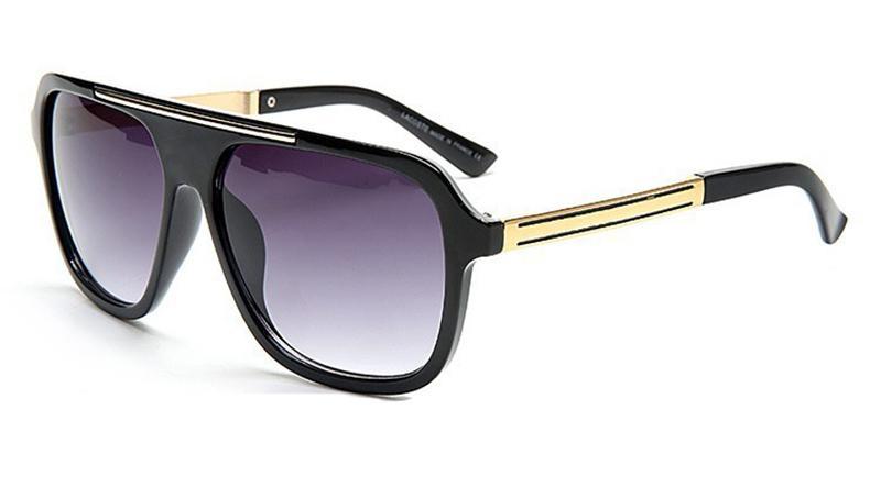 2501 مصمم نظارات شمسية نظارات ماركة ظلال الهواء في الهواء الطلق إطار الأزياء السيدات الكلاسيكية الفاخرة المرايا الشمسية للنساء والرجال