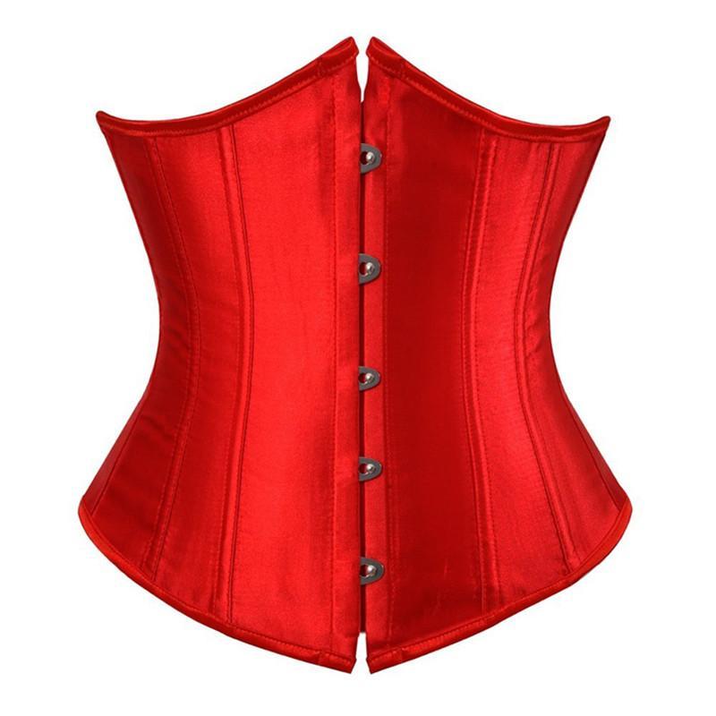 Сексуальное белье готического Underbust корсет и талия Cincher Бюстгальтеры Топ Workout Форма тело Пояс Плюс Размер костюм 6XL