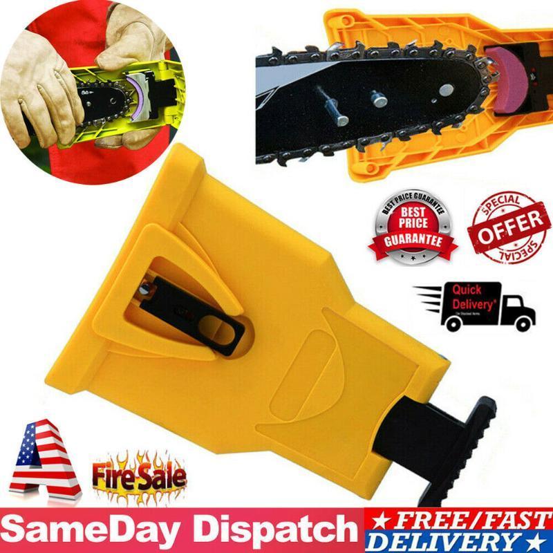 톱 치아 깎이 PowerSharp 바 마운트 톱 체인 선명 시스템 도구 가정용 도구