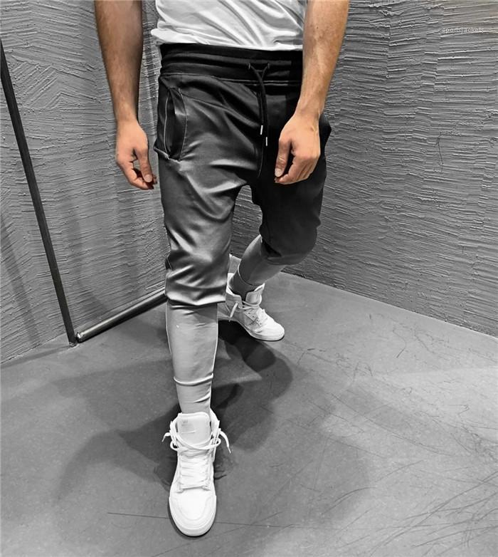 Cores cordão Homme Vestuário Fashion Style Elastic cintura Casual Vestuário Mens Sports Designer Pants Basketball Gradiente