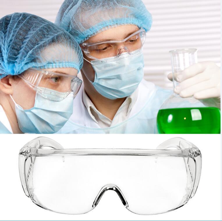 Goggle Lunettes de sécurité Protection des yeux anti-buée protection anti-poussière Lunettes Lunettes Glass Eye prix usine Livraison gratuite