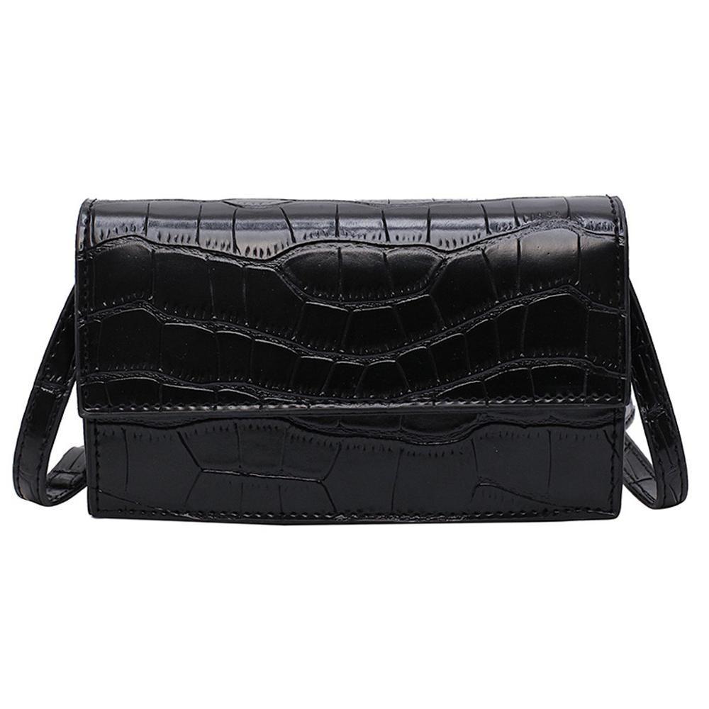 Teste padrão de pedra bolsas Bandoleira For Women 2019 bolsas Pu couro e bolsas New Ladies Designer Shoulder Messenger Bag