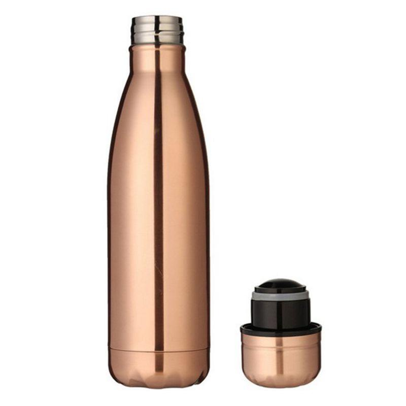 Best 500 ml thermos vacuum flask Expansion bottle of water bottle coffee cup sports kettle vacuum flask electroplating bottle,Ro