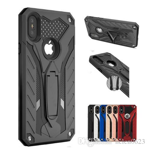 Case For iPhone XS Max XR Shockproof Military Drop Tested Silicon Case For iPhone 7 8 6 6s Plus X 5 5s SE TPU Cover Coque Shell