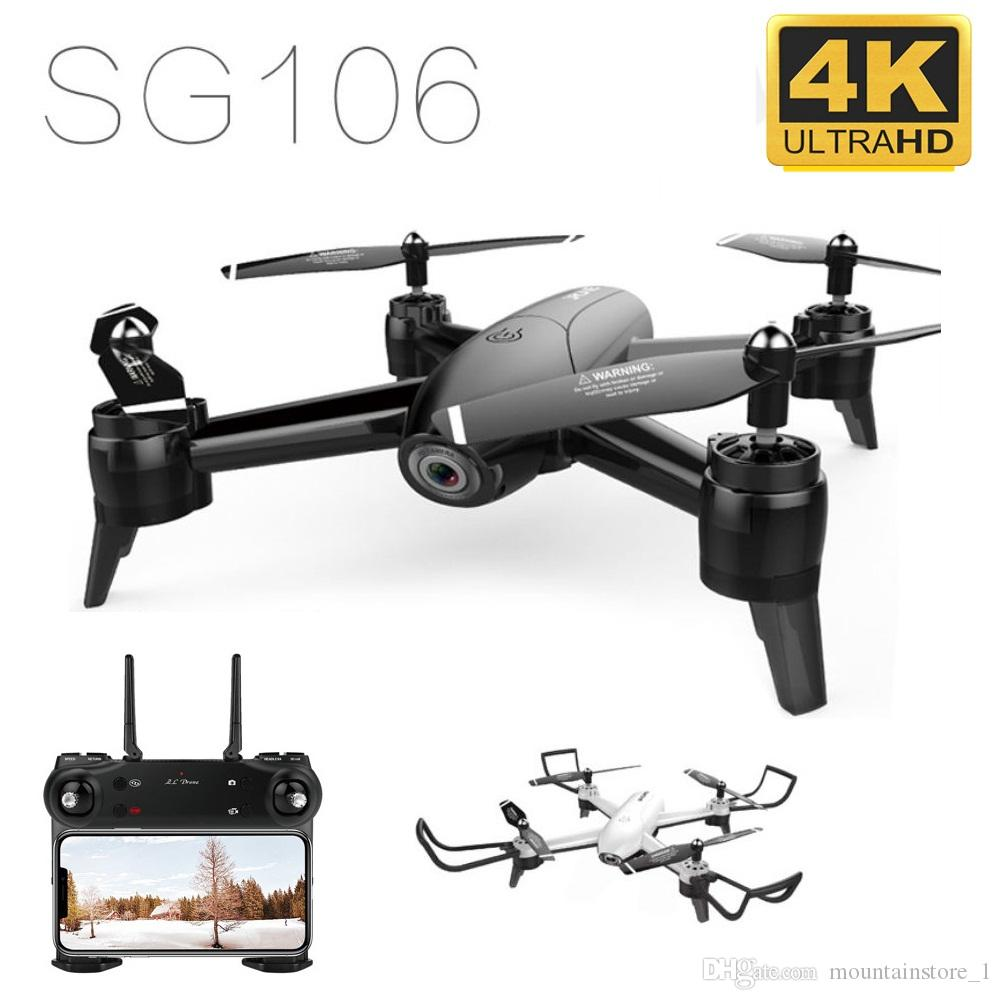 Newly SG106 WiFi FPV RC Drone 4K Camera Optical Flow 1080P HD Dual Camera Aerial Video RC Quadcopter Aircraft Quadrocopter Toys Kid