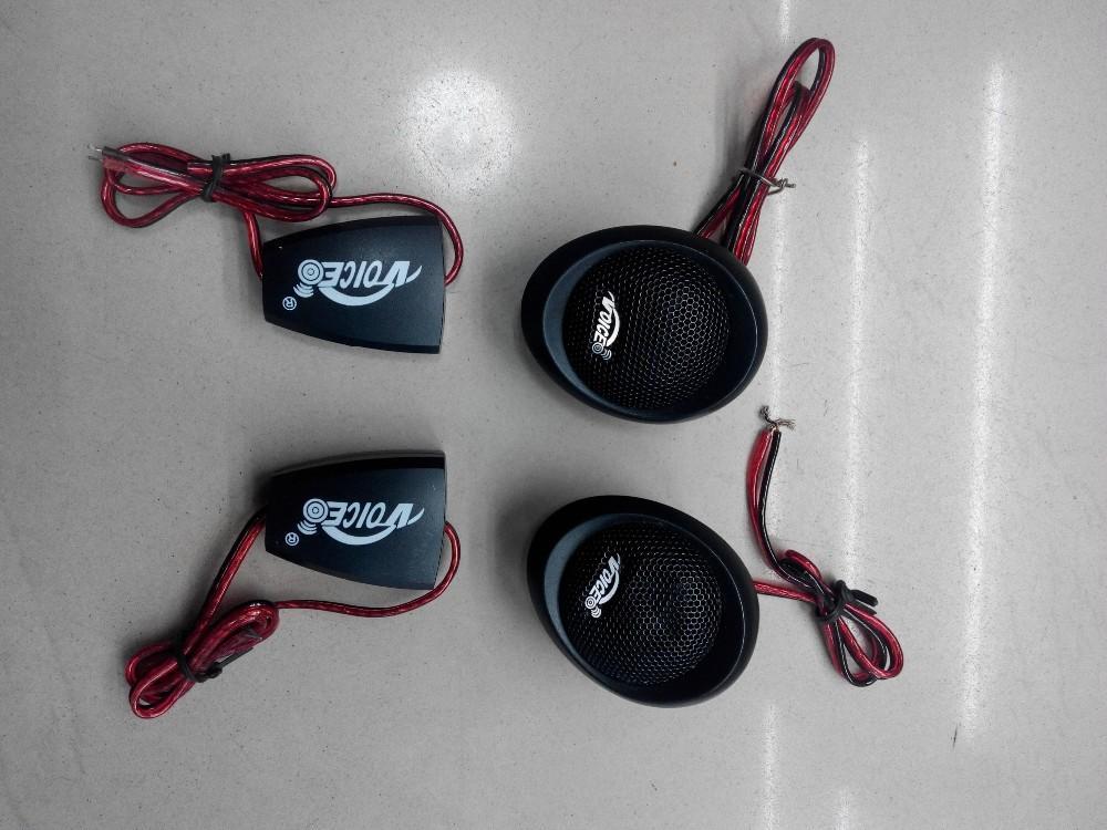 2 개 범용 자동차 스피커 자동차 자동차 오디오 음악 스테레오 높은 피치 스피커 트위터 자동차 코일 25mm 음성
