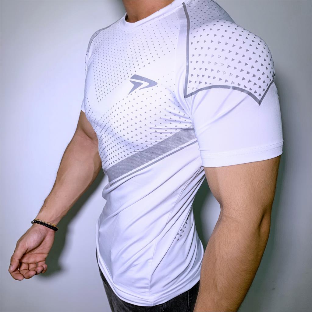 shirt novo Mens Compression magro T-shirt academias de fitness Musculação t Masculino Verão Jogger Casual treino Tee Tops Roupa do tipo Y200623