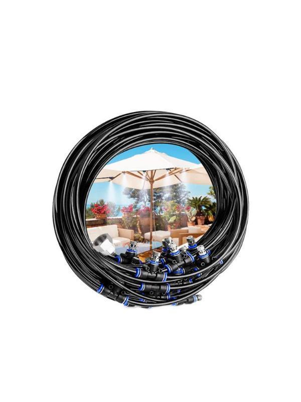 8-18M ороситель спрей охлаждения Осушение Набор Waterring оросительная система Mister Line Spray охлаждения сопла Комплекты батуте