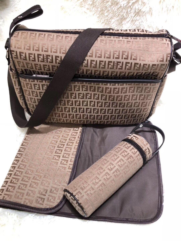 مصمم التمريض حقيبة طفل حفاظة حقيبة مع واجهة USB سعة كبيرة للماء حقيبة الحفاظة أطقم المومياء الأمومة