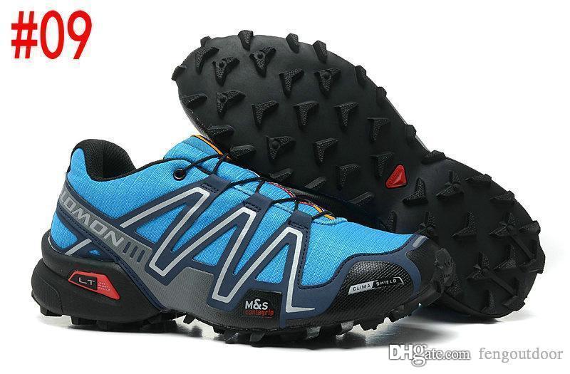 Hız Çapraz 3CS III Açık Erkek Kamuflaj Kırmızı Siyah Spor Ayakkabı Solomon yeni satış 3 koşu ayakkabıları 40-46 fengoutdoor eur Hız Crosspeed mens