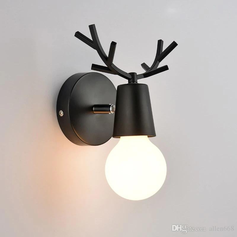 2020 Modern Wall Lamp Led Wall Lights Bedroom Dear Wall Sconce Kids Children Baby Room Lamp Light Fixtures Home Lighting From Allen668 25 03 Dhgate Com