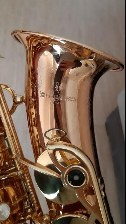 Alto Saxophone Yanagisawa 902 Bronze (MINT) Eb Sax Great son Sax prêt à jouer Instruments de musique