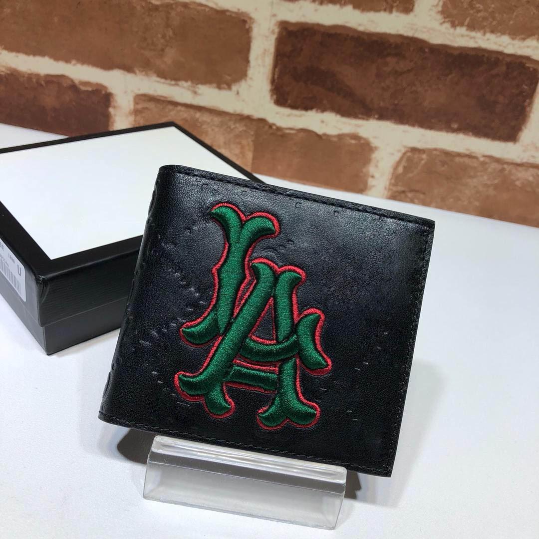 Top Portefeuilles qualité pour les hommes et les femmes courtes hommes en cuir véritable sac d'embrayage portefeuille porte-cartes de portefeuille d'affaires avec la boîte 547787