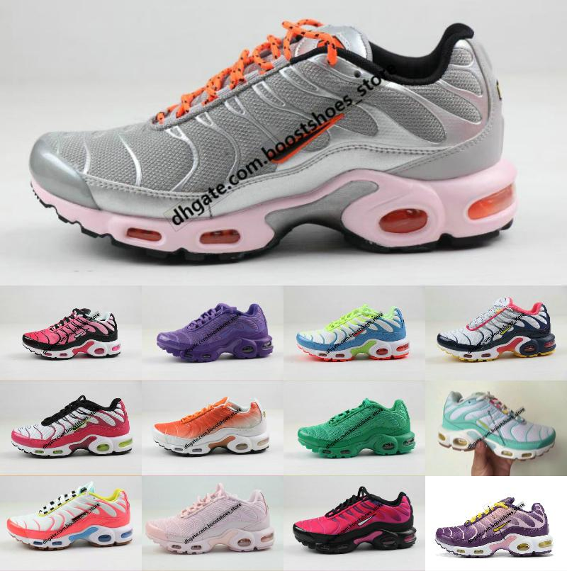 Hight Quality New Women Tn Shoes Original New Designs Fashion Breathable Tn Plus Tn Chaussures Requin Sports Trainers Shoes 36-40