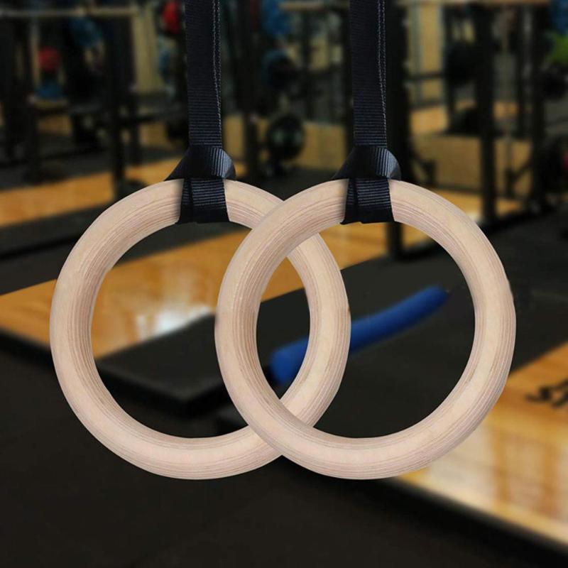 Accessoires Exercice Fitness Anneaux de gymnastique Gym Crossfit Pull Ups Muscle Sangles Réglable Bague Gymnastique Gymnastique