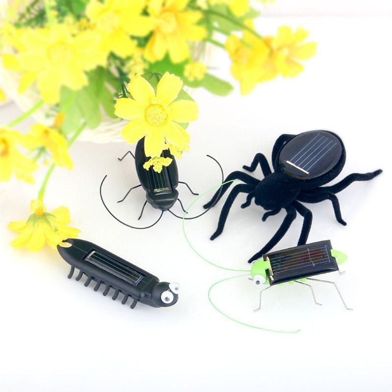 Children Solar Power Energy Insect Grasshopper Cricket Solar Novelty Funny s US