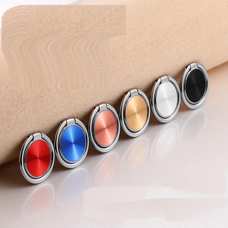 Manyetik Metal Tutucu Smartphone Evrensel CD Spin 360 Derece Parmak Yüzük Cep Metal Telefonu Tutucu iPhone XS Max XR İçin Kavrama Standı