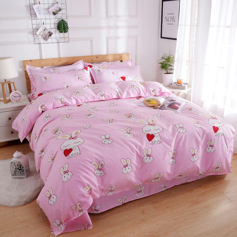 Tasarımcı yatak nevresim takımları Kış Markalı Pamuk Yatak Seti Tasarımcı 4 Adet Sac Nevresim Yorgan yatak örtüsü Isınma