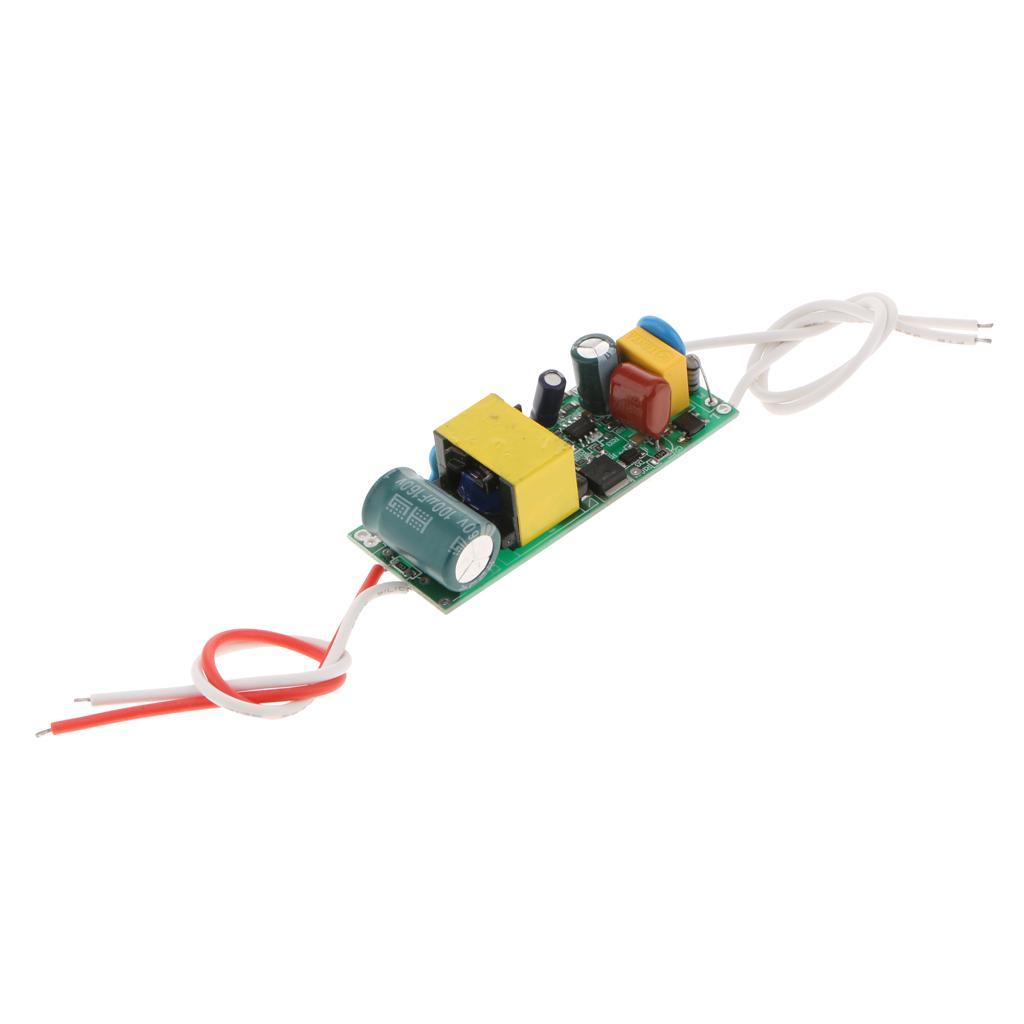 PAR 램프 / 전구 1PCS 재킷 용 25-36 * 1W 공 버블 램프 파워 서플라이 모듈