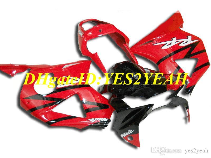 Motocicleta personalizado Kit de Carenagem para Honda CBR900RR 954 02 03 CBR 900RR CBR900 2002 2003 ABS Quente vermelho preto Carimbos conjunto + Presentes HC29