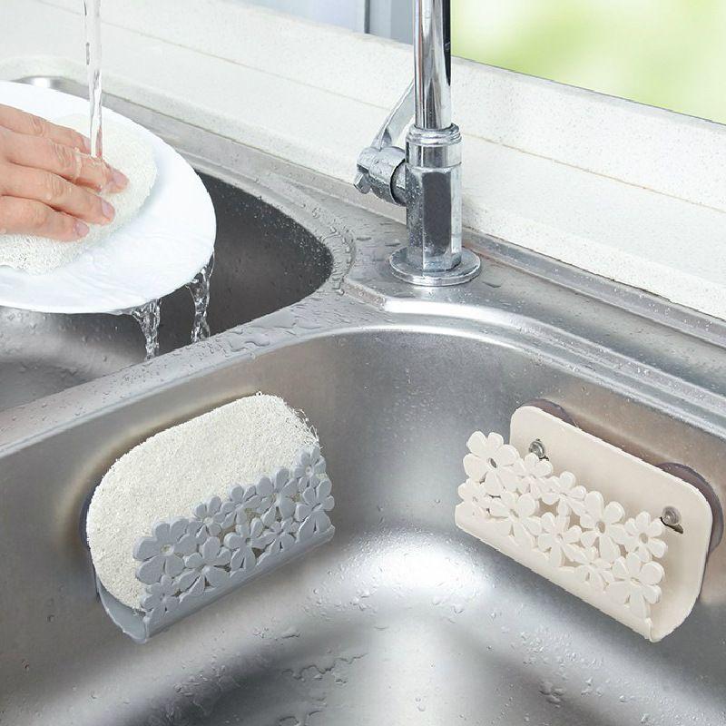 2019 Kitchen Sink Drying Rack Bathroom Soap Sponges Holder Rack Suction Cup  Dish Cloths Holder Storage Organization From Shunhuico, $0.98 | DHgate.Com