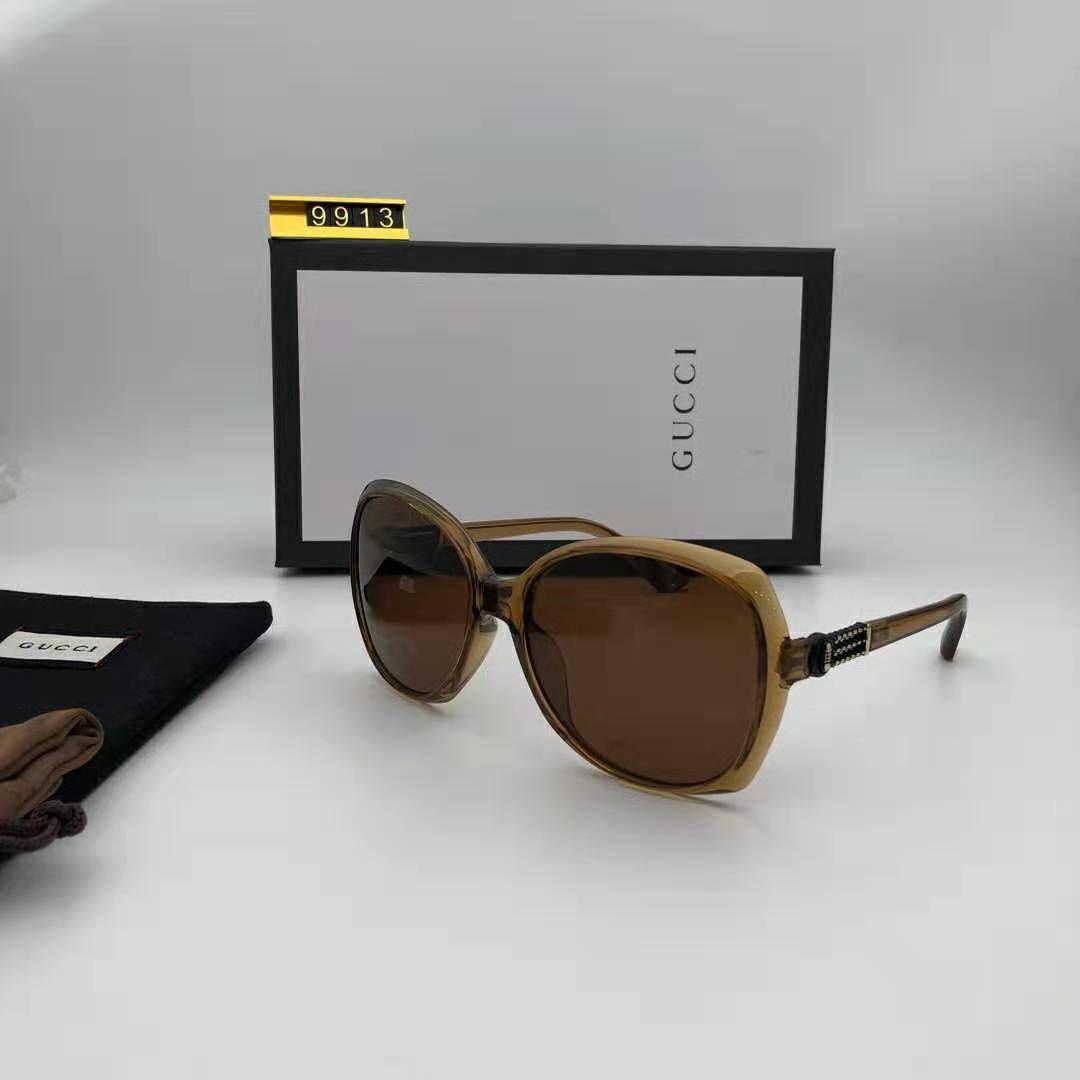 High Quality Glass Lens Brands Sunglasses Men Women Metal Frame 58MM 62MM Trends Vintage Eyewear Flat 10 Color Mirror UV400 Pilot Cases Box