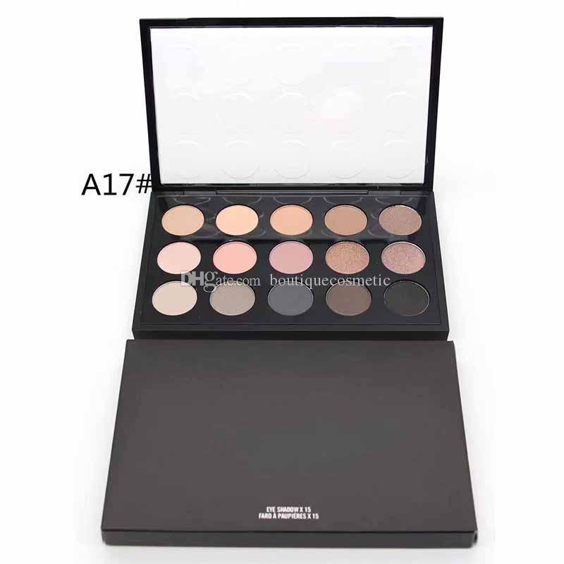 2020 Makeup Palette Matte 15 Sombra castanho cor da sombra com espelho transporte rápido