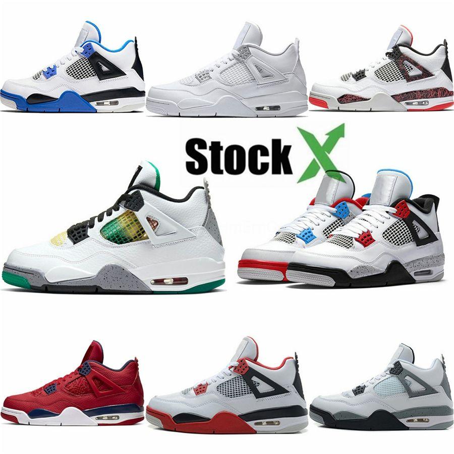 Gli uomini scarpe da basket 4 Shoes Pure denaro a buon mercato dei nuovi uomini 4S di sport Corsa scarpe da tennis trasporto goccia libera di prezzi di sconto con la scatola # 827