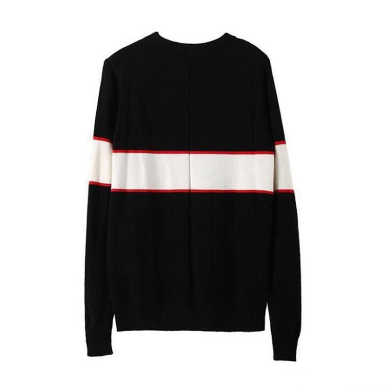 Black Besigner Sweaters For Men Fashion Long Sleeve Letter Print Couple Sweaters Autumn Loose Pullover Sweaters For Women