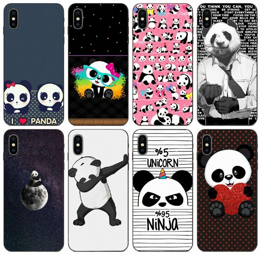 [TongTrade] Panda Dab Life Case For iPhone 8 7 6s 5s Plus X XS 11 Pro Max Galaxy A5 S10 S9 Huawei P30 Y9 Prime Sony Z3 Compact Custom Case
