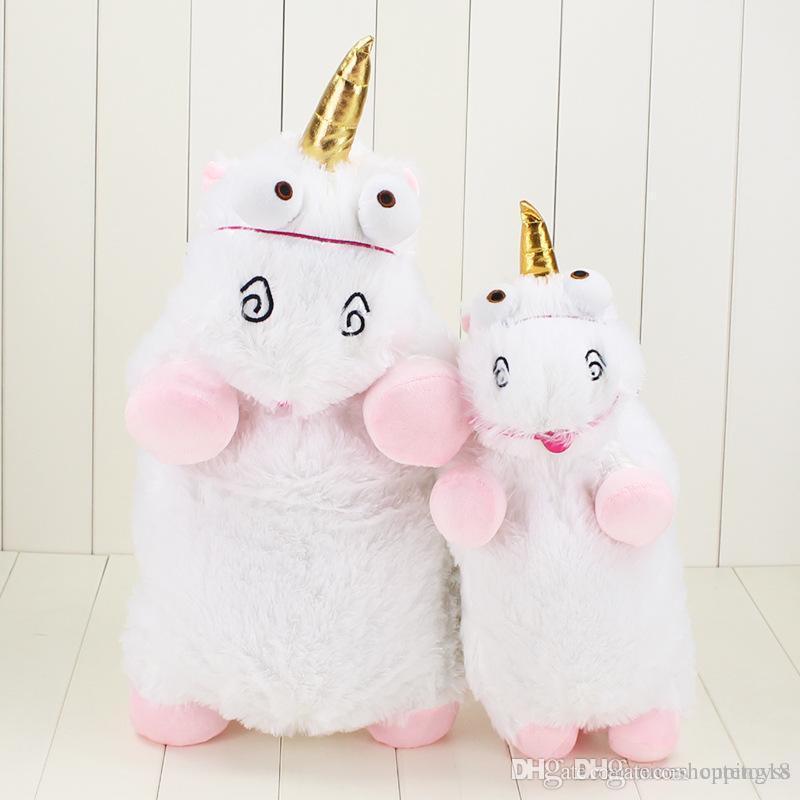 55 cm Unicórnio Kawaii Brinquedos de Pelúcia Dos Desenhos Animados Macios Unicórnio Bichos de pelúcia Bonecas Figura Toy para Presentes de Natal para Crianças t462