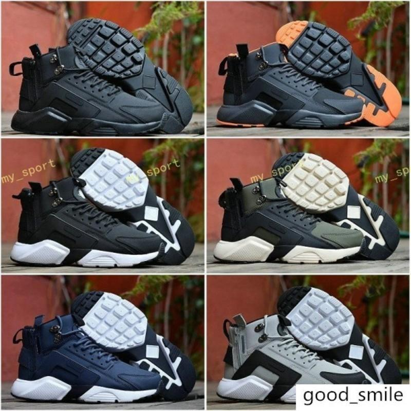 2018 New Air Huarache 6 X Acronym City MID Leather High Top Huaraches Running Shoes Men Sports huraches Sneakers Hurache Zapatos Size 7-11