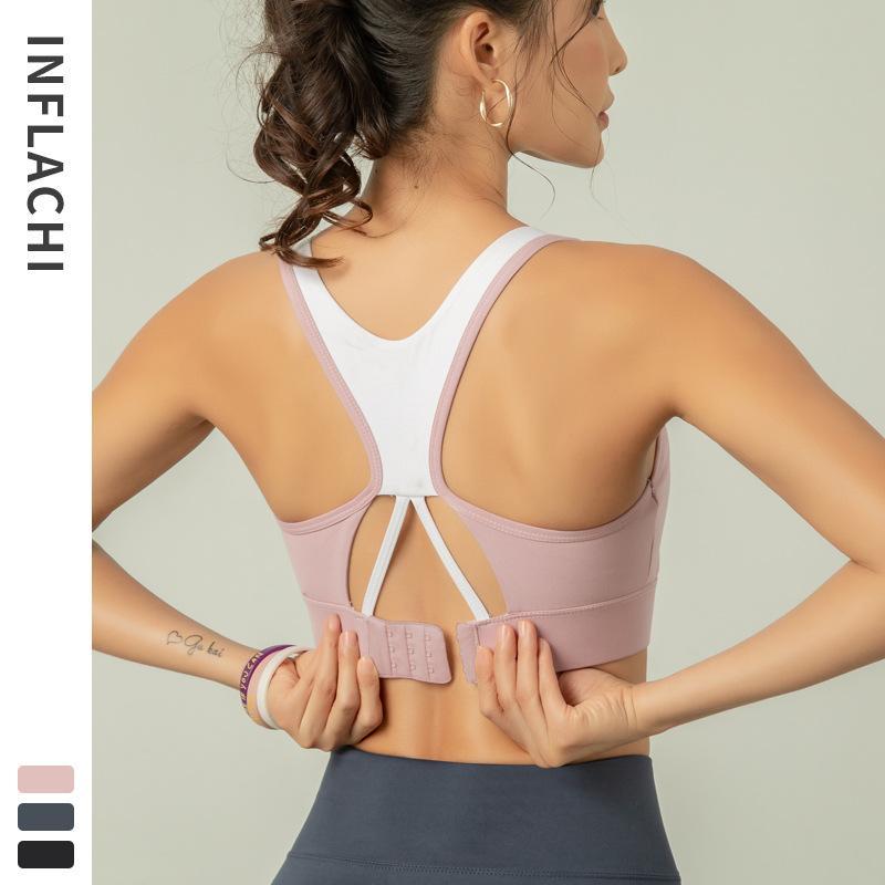 Ropa interior para mujer de belleza Deportes resistentes trasero del sujetador push-up aptitud que se ejecuta Vest-desgaste externo transpirable Yoga / 30
